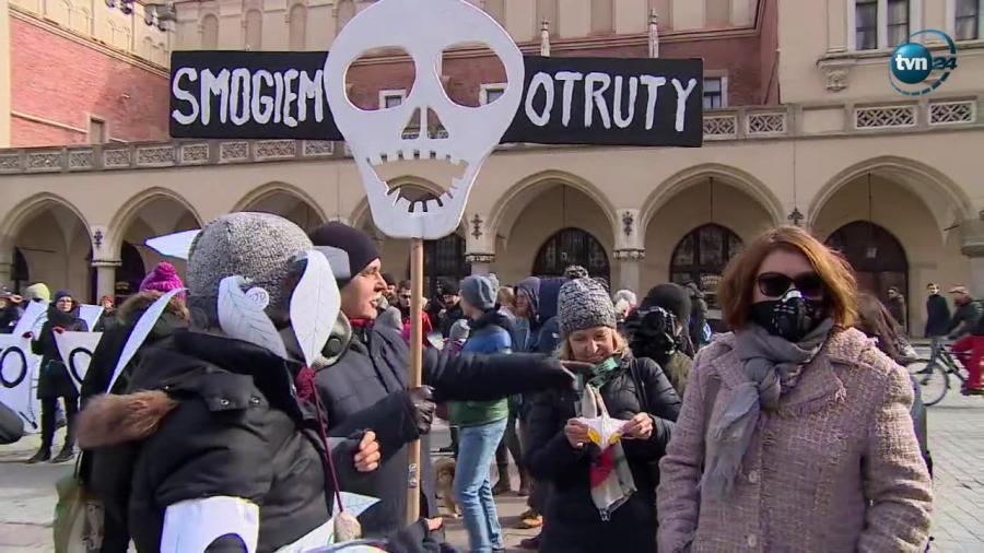 Czysty protest w Krakowie