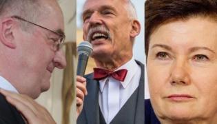 Jacek Saryusz-Wolski, Janusz Korwin-Mikke, Hanna Gronkiewicz-Waltz