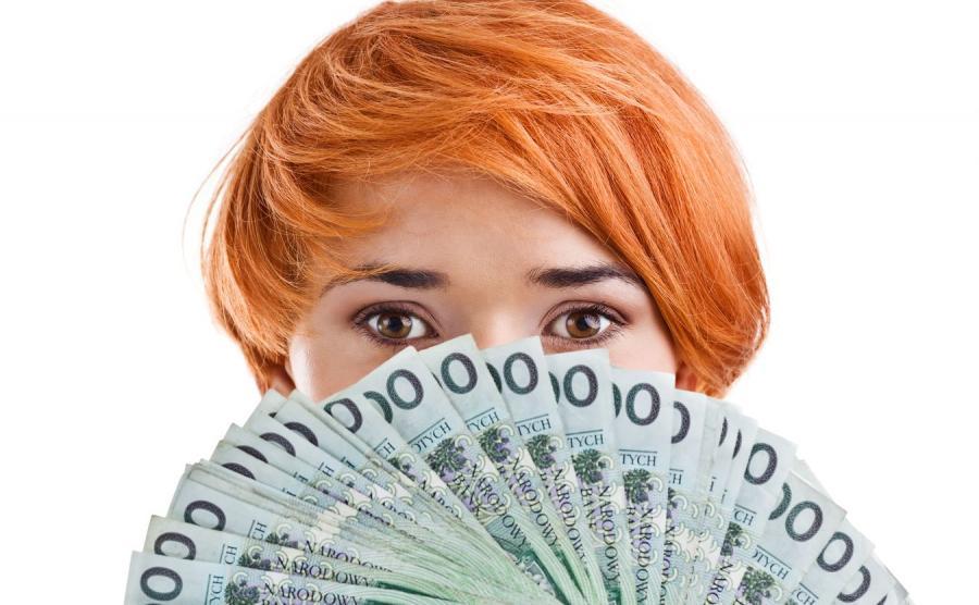 Kobieta i pieniądze