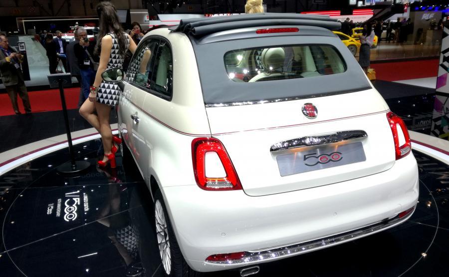 Fiat 500CC w limitowanej serii z okazji 60. urodzin modelu