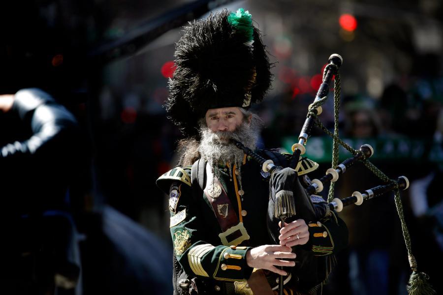 Parada z okazji Dnia Świętego Patryka w Nowym Jorku
